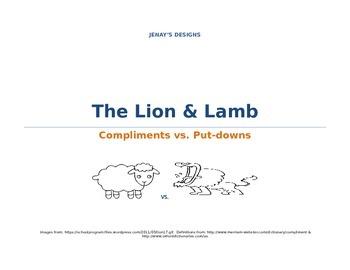 Compliments vs. Put-downs