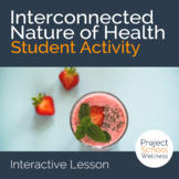 Middle School Health Lesson Plans - - The Interconnected Nature of Health
