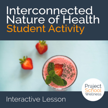 Components of Health - Post-It® Activity (Middle School He