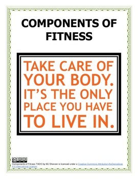 Components of Fitness Lessons and Activities TADO