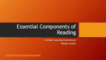 Components of Reading Professional Development