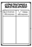 Comportamiento | Worksheet | Ficha en español