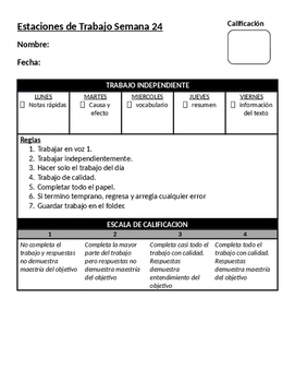 Comportate Pablo Picasso! lesson plans and station packet