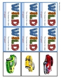 Compose Decompose Numbers Card Game - Racing Theme