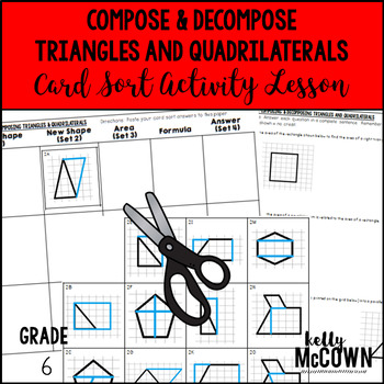 Compose & Decompose Triangles and Quadrilaterals