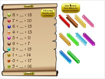 Inequalities: Compose & Solve. 28 On-Board Activities, Task Cards Test Quiz Prep