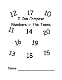 Compose Numbers 10-20
