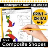 Compose Shapes | Kindergarten Math