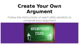 Compose Your Own Argument