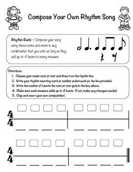 Compose Your Own Rhythm Song