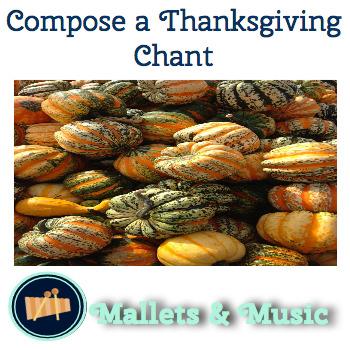 Compose a Thanksgiving Chant