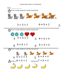 Compose and Decompose 1-10 preassessment