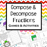 Compose and Decompose Fractions Activities