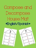 Compose and Decompose House Mat Bilingual