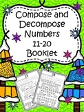 Compose and Decompose Numbers 11-20 (Booklet)