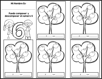 Compose and Decompose Numbers in Spanish