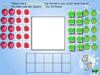 Compose and Decompose Numbers to 10 using Objects/Pictures