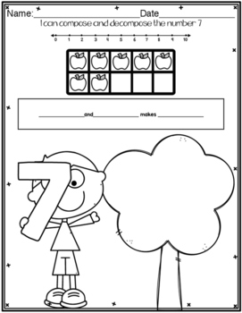 Compose and Decompose Numbers with Apples