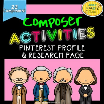 Composer Research (Pinterest profiles and research pages)