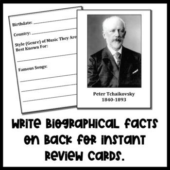 Composer Baseball Cards