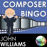 Music Composer Bingo: John Williams