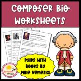 Composer Bio Worksheets