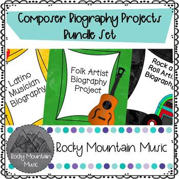 Composer Biographies Bundle Set