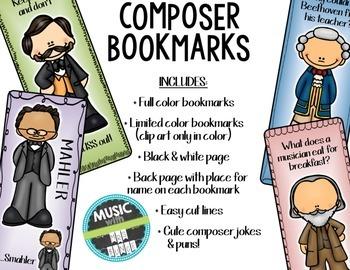 Composer Bookmarks 2 (Mahler, Haydn, Strauss, Brahms)