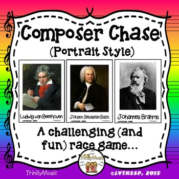 Composer Chase - Portrait Version (Relay Game for Composer Review)