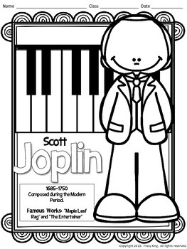 Composer Coloring Sheets 2