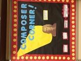 Composer Corner Bulletin Board