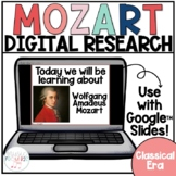 Composer Digital Research Project | Mozart | Music Distance Learning