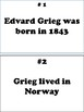 "Composer Edvard Grieg ""Write the Room""- activity for elementary school students"