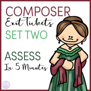 Composer Exit Tickets Set 2