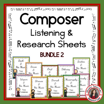 Composer Foldables Bundle 2