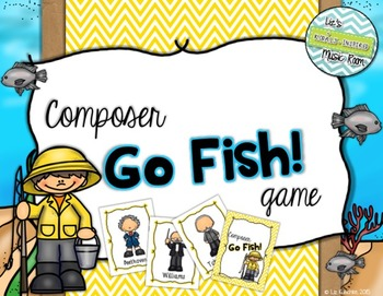 Composer Go Fish! Card Game