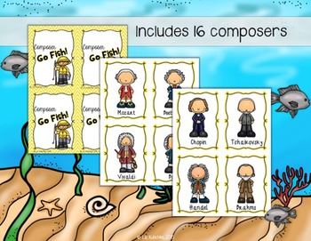 Composer Go Fish Card Game