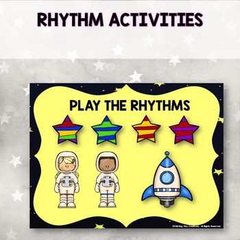 Composer John Williams Music Lesson and Rhythm Activities