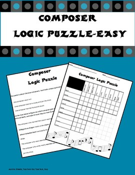 Composer Logic Puzzle-Easy