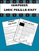 Composer Logic Puzzle-Easy