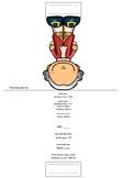 Composer Mini Standee / Bookmark (Mozart)