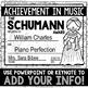 Composer Music Awards -BW/Ink-Saver Version- *EDITABLE*
