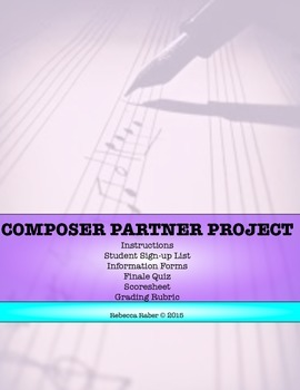 Composer Partner Project (ELEMENTARY) Classroom Assignment