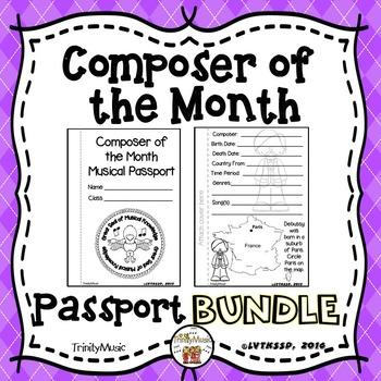 Composer Passports (BUNDLE)