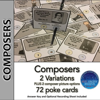 Composer Poke Cards