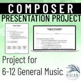 Composer Presentation Project