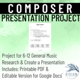 Composer Presentation Project (PDF & Google Drive Versions)