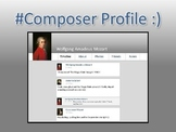 Composer Profile - A Music History Activity (PowerPoint)