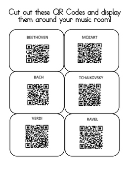 """Composer QR Quest-GREAT """"BACK TO SCHOOL"""" ACTIVITY!"""