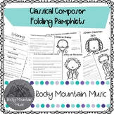 Composer Research Flipbooks